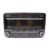 Head Unit Radio 11-16 VW Jetta Golf MK6 Passat Beetle - Genuine - 1K0 035 164 D