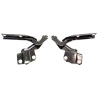 Hood Hinges 11-18 VW Jetta Sedan MK6 - L041 Black - Genuine - 5C6 823 301 / 302