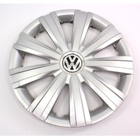 "Genuine Hubcap Hub Cap Wheel Cover 15"" 11-14 VW Jetta MK6 - 5C0 601 147"