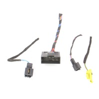 LH Front Seat Wiring Harness Pigtail Plugs Connectors 10-14 VW Jetta Sportwagen