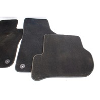 Floor Mats Carpet Set 06-10 VW Jetta Rabbit GTI Sportwagen MK5 - Genuine