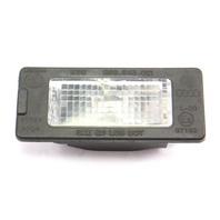 License Plate Lamp Light 11-17 VW Jetta Tiguan Touareg - Genuine - 5N0 943 021