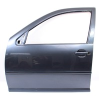 LH Front Driver Exterior Door Shell 99-05 VW Jetta Golf MK4 LC7V Blue - Genuine