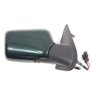 RH Exterior Side View Door Mirror 93-99 VW Jetta Golf GTI Mk3 Power - Green