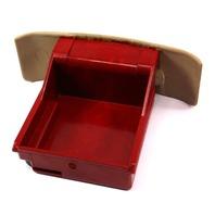 Beige Rear Ashtray Ash Tray Red Insert 99.5-02 VW Cabrio MK3.5 - 1EM 857 962