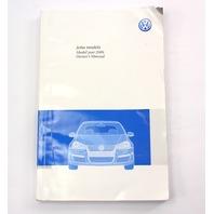 Owners Manual Operations Book 09 2009 VW Jetta MK5 Sportwagen - Genuine