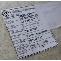Panoramic Headliner Ceiling 2009 VW Jetta Sportwagen Pure Beige 1K9 867 501