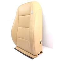 LH Front Heated Seat Back Rest Cover 05-10 VW Jetta Mk5 Pure Beige - Genuine