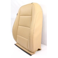 RH Front Heated Seat Back Rest Cover 05-10 VW Jetta Mk5 Pure Beige - Genuine