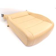 RH Front Seat Cushion & Cover 05-10 VW Jetta Mk5 Pure Beige Leatherette Genuine