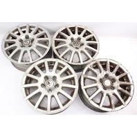 """Stock 15"""" 5x100 Alloy Wheel Rim Set 99-05 VW Jetta Golf MK4 - 1J0 601 025 AT"""