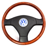 Rare Momo Wood Steering Wheel 98-05 VW Passat B5 / 99-05 Jetta GTI MK4 ~ Genuine