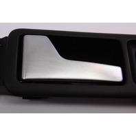 LH Rear Interior Door Pull Handle Brushed VW Jetta Golf GLI Mk4 - 1J4 839 113 C