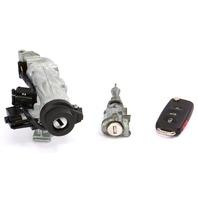 Lock Set Ignition Cylinder Door & Key VW Jetta Rabbit GTI MK5 1K0 905 851 B