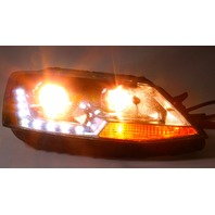 RH Eagle Eyes Headlight Head Light Lamp 11-18 VW Jetta MK6 LED Projector