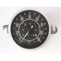 1971 VW Beetle Bug Speedometer Gauge Cluster Vintage Aircooled - 113 957 023 E