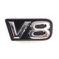 Grille Grill V8 Emblem Toyota Tundra 00-02 Genuine Part 75312-0C010