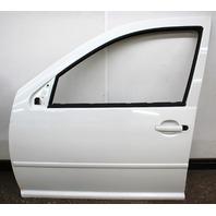 LH Front Driver Exterior Door Shell 99-05 VW Jetta Golf MK4 4DR LA9B Cool White