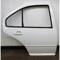 RH Rear Exterior Door Shell 99-05 VW Jetta Golf MK4 4DR LA9B Cool White