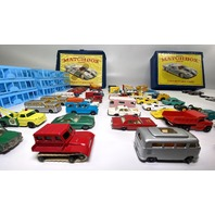 53 Matchbox Lesney Garage Sale Find Vintage Collection Lot + 12 Bonus Cars