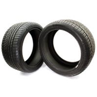 2X Continental Extreme Contact DWS 06 275/35ZR19 100Y Used Tires 10/32nd