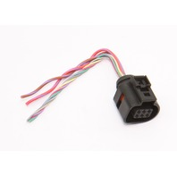 Throttle Body Pigtail Wiring Plug 05-11 Audi A4 A6 BKH 3.2 V6 - 5N1 973 206