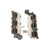 Lower Intake Manifolds 05-09 Audi A4 A6 BKH 3.2 V6 Genuine - 06E 133 109 E