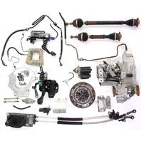 Manual Transmission Swap Parts Kit 99-05 VW Jetta Golf GTI MK4 02J 1.8T EGX 33k