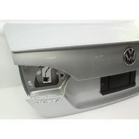 Trunk Lid Boot W/ Lip Spoiler 11-14 VW Jetta GLI MK6 - LA7W - Reflex Silver