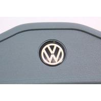 Early Steering Wheel Horn Pad Button 75-80 VW Rabbit Pickup Mk1 Blue 175 419 669