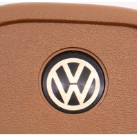 Early Steering Wheel Horn Pad Button 75-80 VW Rabbit Mk1 - Brown - 175 419 669