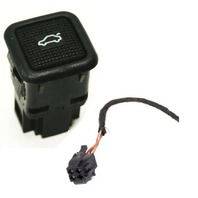 Trunk Release Switch Button & Plug Wiring Pigtail 93-99 VW Jetta Golf GTI MK3 -