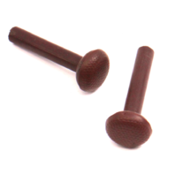 Brown Genuine VW Door Lock Pin Pull Knob Set Jetta Rabbit GTI Pickup MK1 MK2