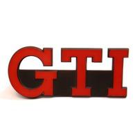 Red GTI Grill Grille Emblem 83-84 VW Rabbit GTI MK1 Badge Genuine ~ 175 853 679