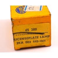 NOS Hella License Plate Light Lamp Holder 75-84 VW Rabbit GTI Mk1 171 943 021 A