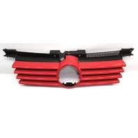Upper Grill Grille 99-05 VW Jetta MK4 LY3D Tornado Red - Genuine - 1J5 853 655 C