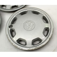 "Genuine Hub Cap Wheel Cover Set 14"" 93-99 VW Jetta Golf Cabrio MK3 - 1HM 601 147"