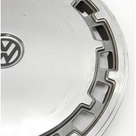 "Genuine VW Metal 13"" Hub Cap Wheel Cover VW Jetta Golf Rabbit Pickup Mk1 MK2"