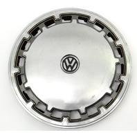 "Genuine VW Metal 13"" Hub Cap Wheel Cover VW Jetta Golf Rabbit Pickup Mk1 MK2"