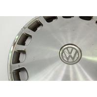 "Genuine VW Metal 13"" Hub Cap Wheel Cover VW Jetta Golf Rabbit Pickup Mk1 MK2 -"