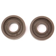 Window Crank Handle Spacer 87-93 VW Fox - Brown - Genuine - 305.837.595.2
