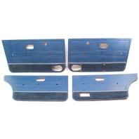 Door Panel Set 80-84 VW Jetta MK1 Blue - Genuine
