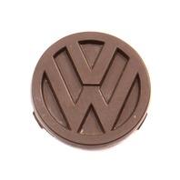 Steering Wheel Emblem Badge 80-91 VW Vanagon T3 - Genuine - 255 419 685