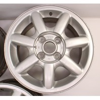 "14"" Alloy Wheel Rim Set 75-99 VW Jetta Golf GTI Cabrio MK1 MK2 Mk3 4x100 Genuine"