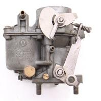 Solex Carburetor 28PICT 61-63 VW Beetle Bug 1200cc 40HP Genuine . 113 129 023 C