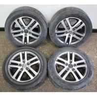 "16"" 5x112 Alloy Wheel Rim Set 05-10 VW Jetta Rabbit Golf MK5 ~ 1K0 601 025 AJ"