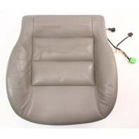Front Seat Cushion & Cover VW Jetta GTI MK4 Passat B5 . Heated Grey Leather