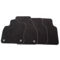 NOS Floor Mat Carpet Set 18-20 VW Tiguan - Black - Genuine OE Volkswagen -