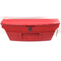 Early Style Trunk Deck Lid 95-99 VW Cabrio MK3 - LP3G Flash Red - Genuine