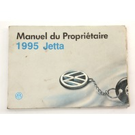 1995 Volkswagen VW Jetta MK3 Owners Manual Book French Canadian - Genuine